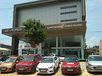 Hyundai Showroom | Trident Hyundai Car Showroom in Bangalore