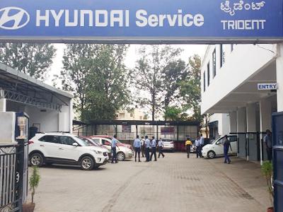 Hyundai Showroom In Bangalore Hyundai Car Service Trident Hyundai